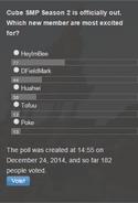Poll - New Cube Members