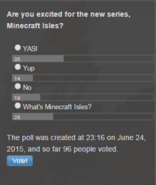 Poll - MC Isles