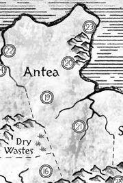 Antea map