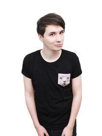 Dan llama tshirt