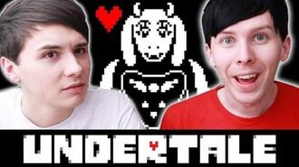 Dan and Phil play UNDERTALE!