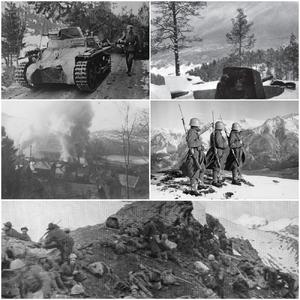 Alpine War Collage