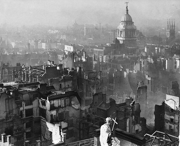 File:View from St Paul's Cathedral after the Blitz.jpg