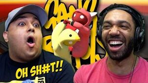 -HILARIOUS!- SH-T GOT REAL!!! -GANG BEASTS-