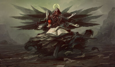 Azrael true form