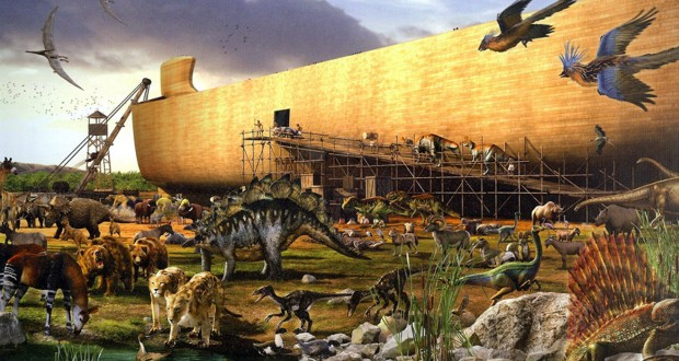 Noahs Ark Being Built As It Houses Every Living Creature On Earth