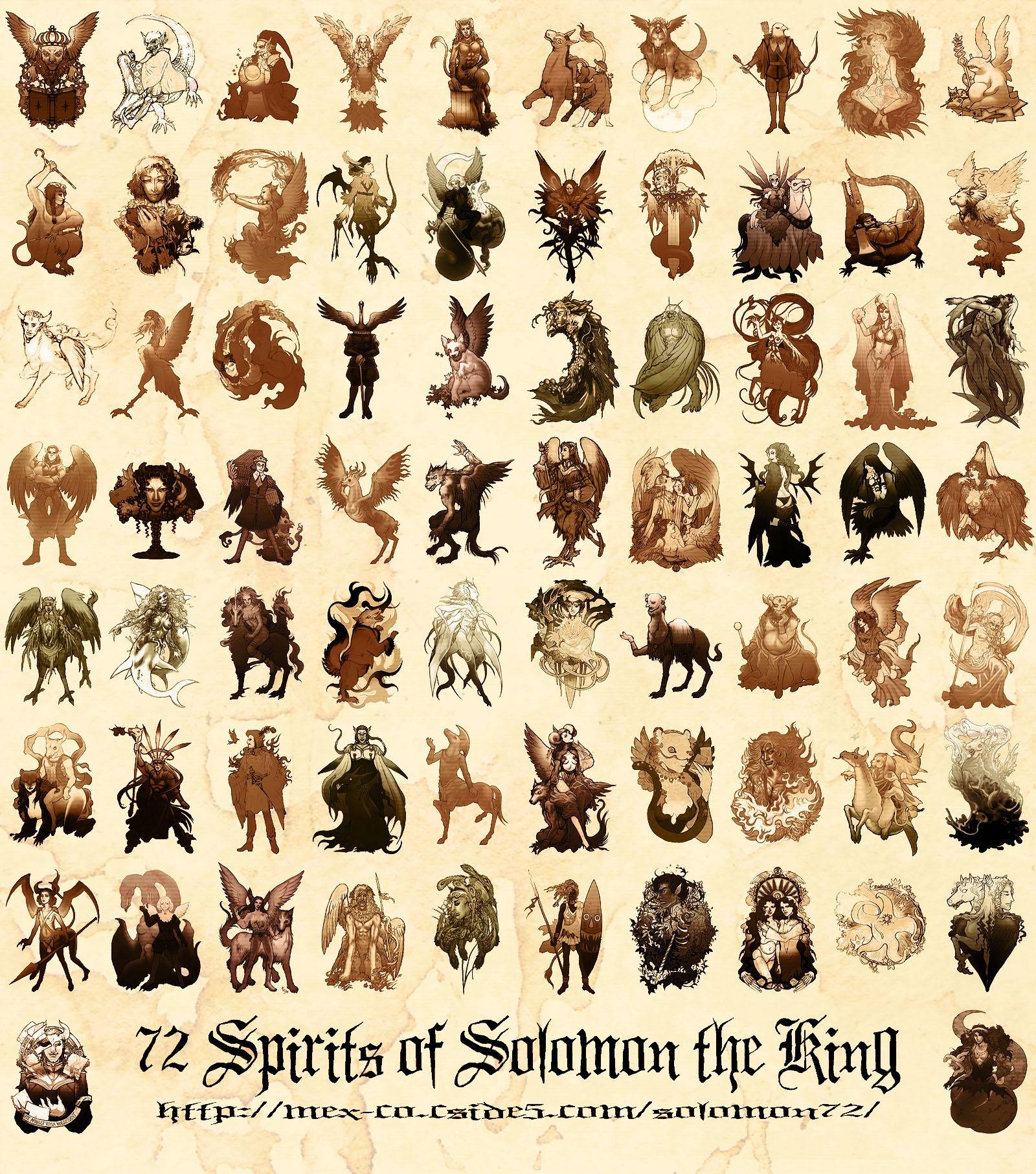 Demons of the Ars Goetia