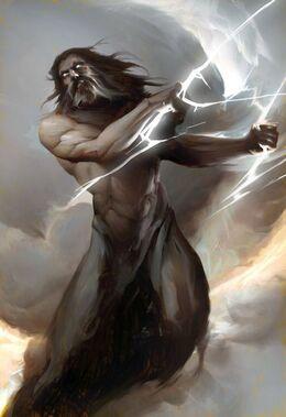 Zeus the Sky Father