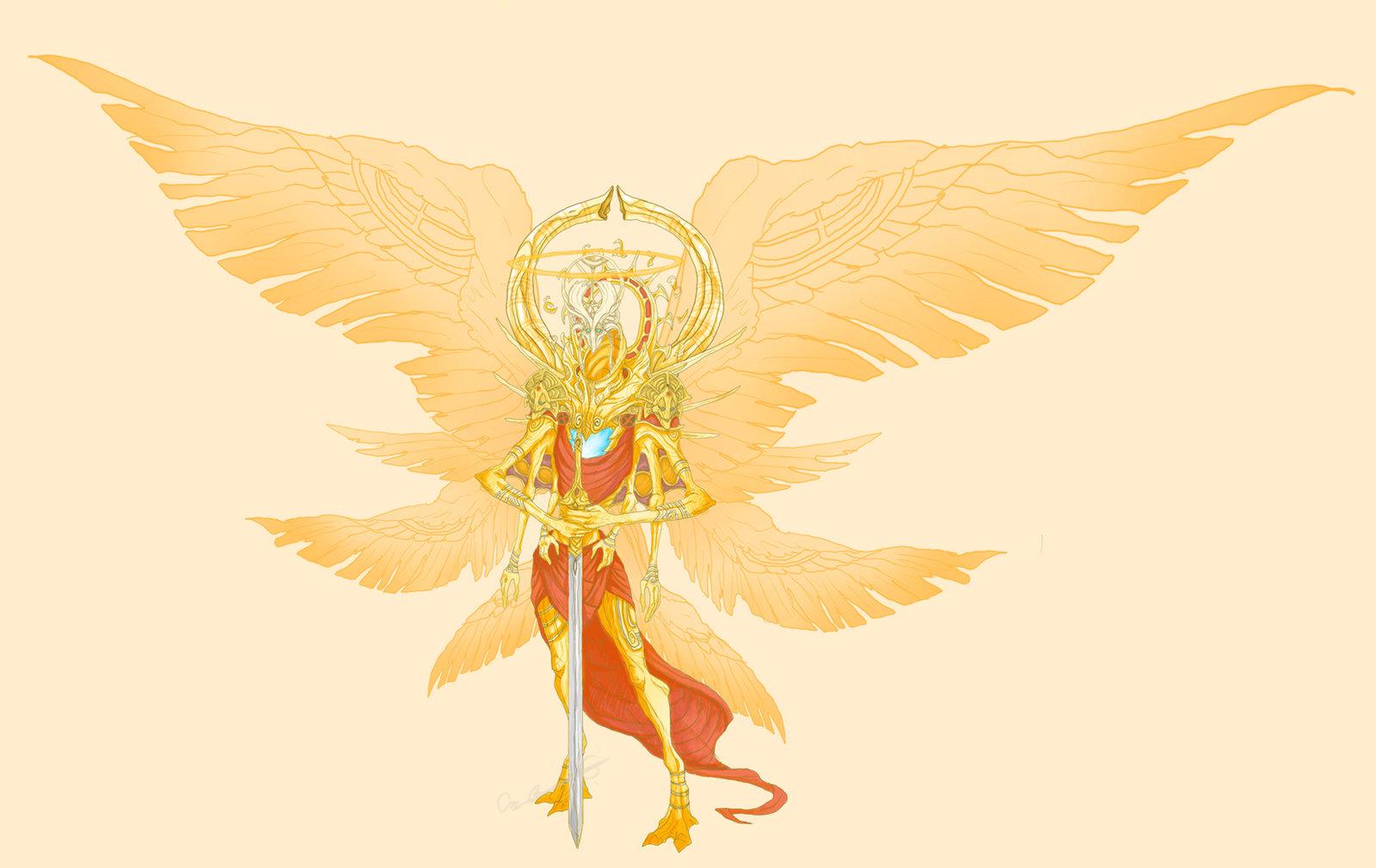 Image - Michael True Form.jpg | The Demonic Paradise Wiki | FANDOM ...