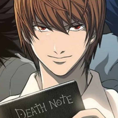 Light Yagami from <i>Death Note</i>