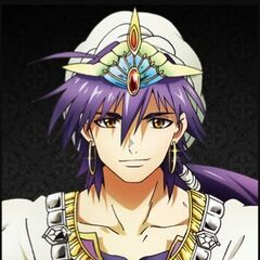 Sinbad from <i>Magi: The Labyrinth of Magic</i>