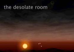 The desolate room