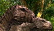 Tarascosaur pair.