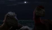 Pyrororaptor pack at night