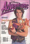 Disney Adventures September 1993