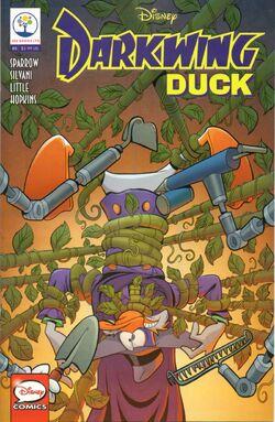 Darkwing Duck JoeBooks 8 cover