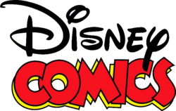 Disney Comics logo