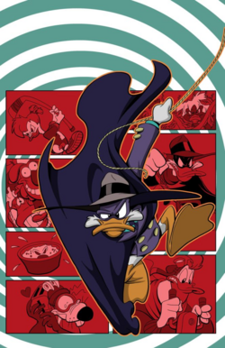 Darkwing Duck JoeBooks 1 textless cover art