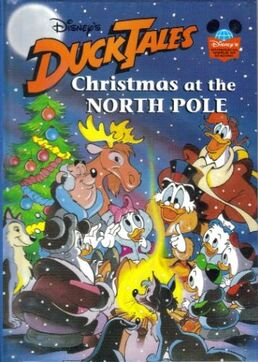 DuckTales Christmas storybook