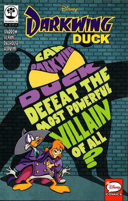 Darkwing Duck JoeBooks 4 cover
