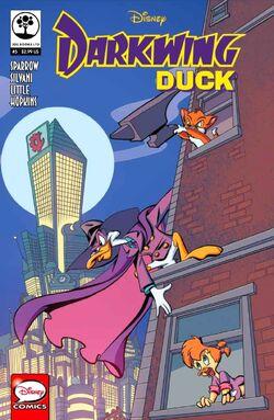 Darkwing Duck JoeBooks 5 cover