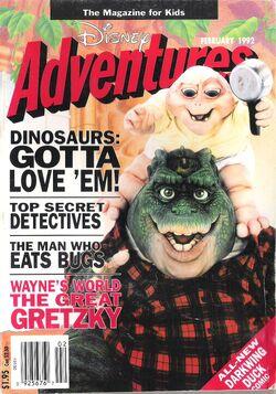 DisneyAdventures-Feb1992