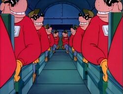 Standard Beagle Boys on DuckTales