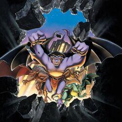 Gargoyles promotional art