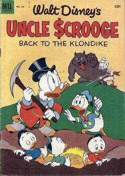 Back to the Klondike original cover