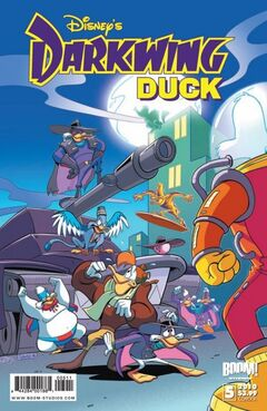 Darkwing Duck Issue 5A