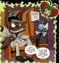 Fidget in the Darkwing Duck comic