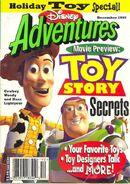 Disney Adventures December 1995