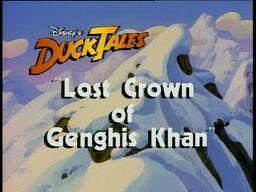 Lost Crown of Genghis Khan titlecard