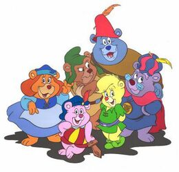 Gummi Bears main characters