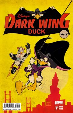 DarkwingDuck BoomStudios issue 7B