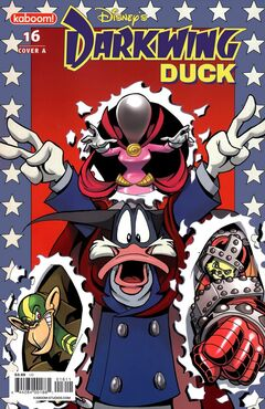 Darkwing Duck Issue 16A