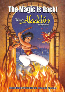 Aladdin series print ad