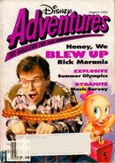 Disney Adventures August 1992