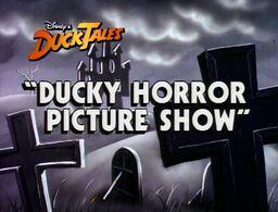 Title-DuckyHorrorPictureShow