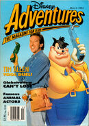 Disney Adventures March 1993