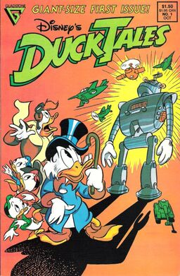 DuckTales Gladstone Issue 1