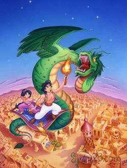 Aladdin series promotional picture