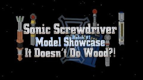 Sonic Screwdriver Batch 1