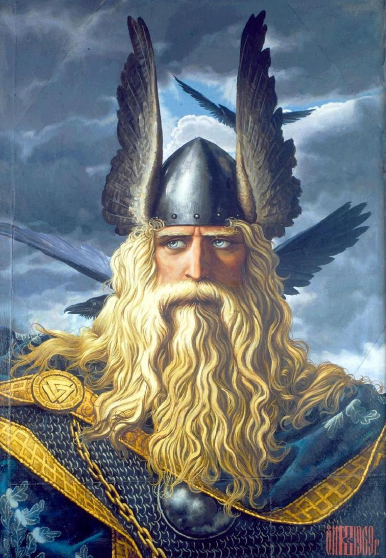 Konstantin Vasiliev Wotan The Supreme God Of Ancient Norse 1969 E1274045671339