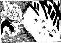 DBZ Manga Chapter 332 - SS F Trunks Shining Sword Attack2