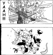 DBZ Manga Chapter 332 - SS F Trunks Shining Sword Attack