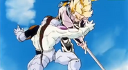 Another Super Saiyan - Trunks Shining Sword Attack 2