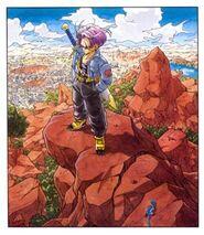 300px-Dragonballkai-trunks-artbook-toriyama-dbz-01