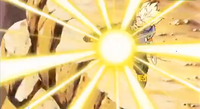 Another Super Saiyan - Trunks' Burning Attack 3