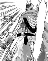 Bone Man leveling up